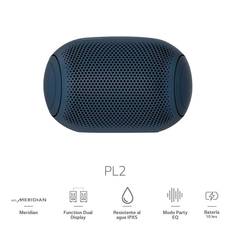 Lg - Parlante Portátil Bluetooh XBOOM Go PL2 2020