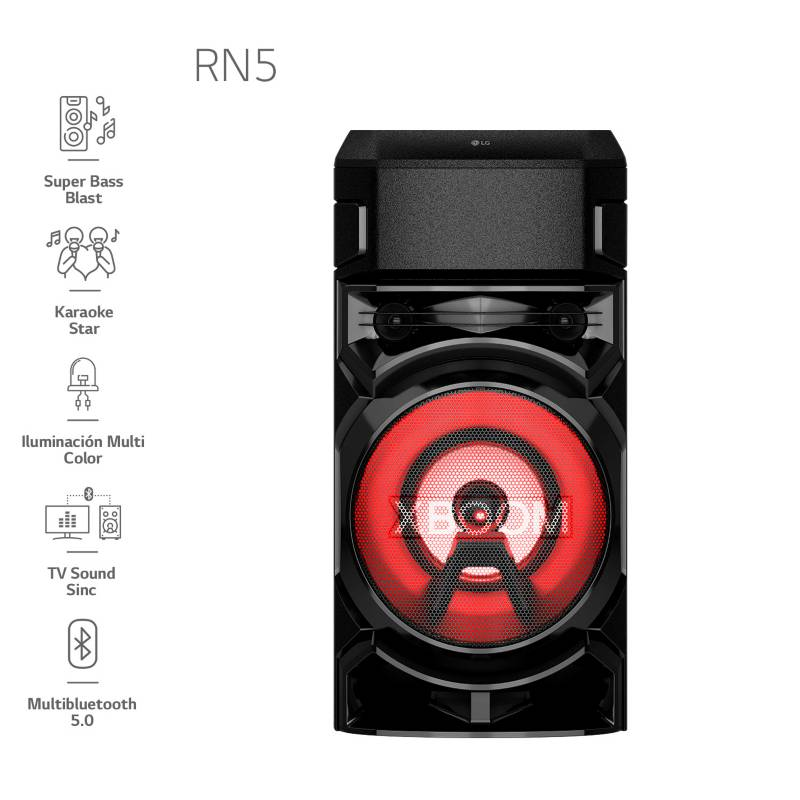 LG - Minicomponente XBOOM RN5 2020