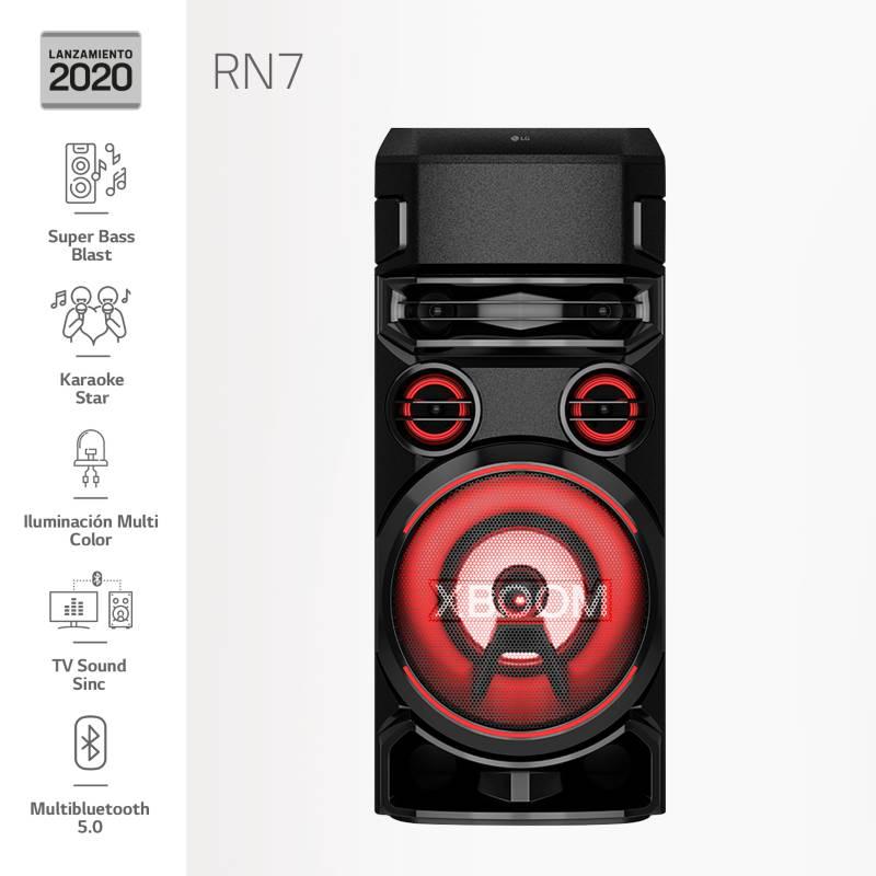 LG - Minicomponente XBOOM RN7 2020