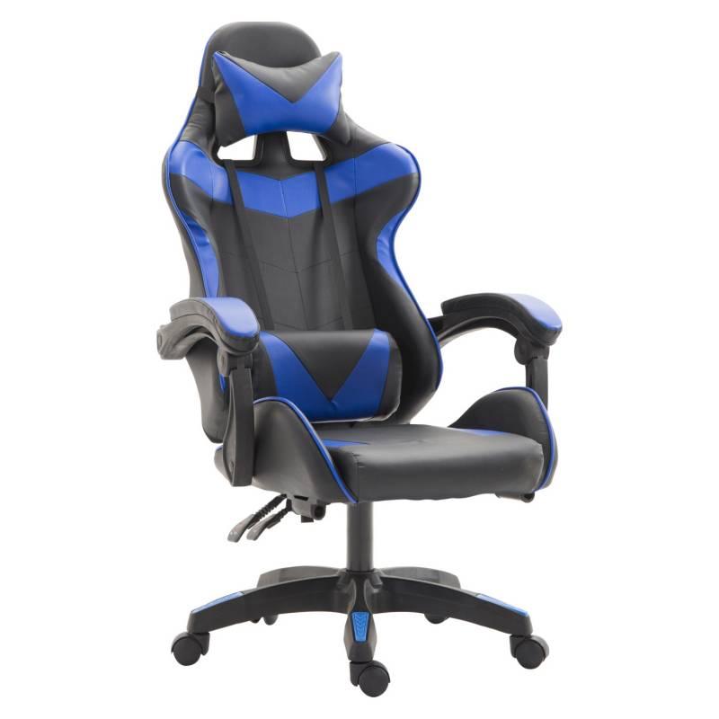 NOVAHUS - Silla Gamer Ultimate Racing - Azul