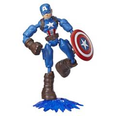 AVENGERS - Figura Avengers Bend And Flex Captain America 15Cm
