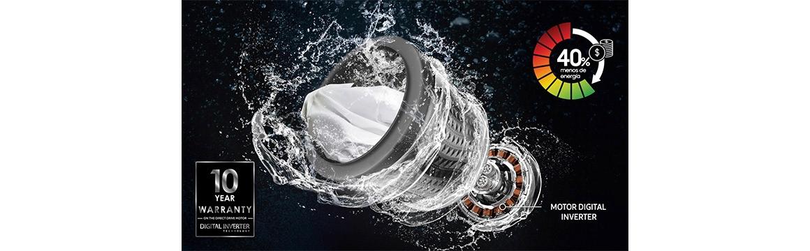 Samsung Lavadora Carga Superior 15 kg Gris
