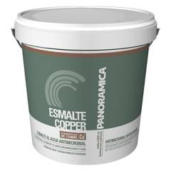 PINTURAS PANORAMICA LTDA - Esmalte Copper Antimicrobial Gris Ceniza 4 Gl