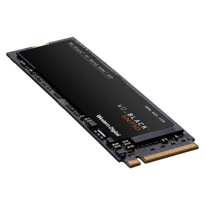 Western Digital - Disco Duro Solido SSD Black 500GB PCI Express M.2 NVMe