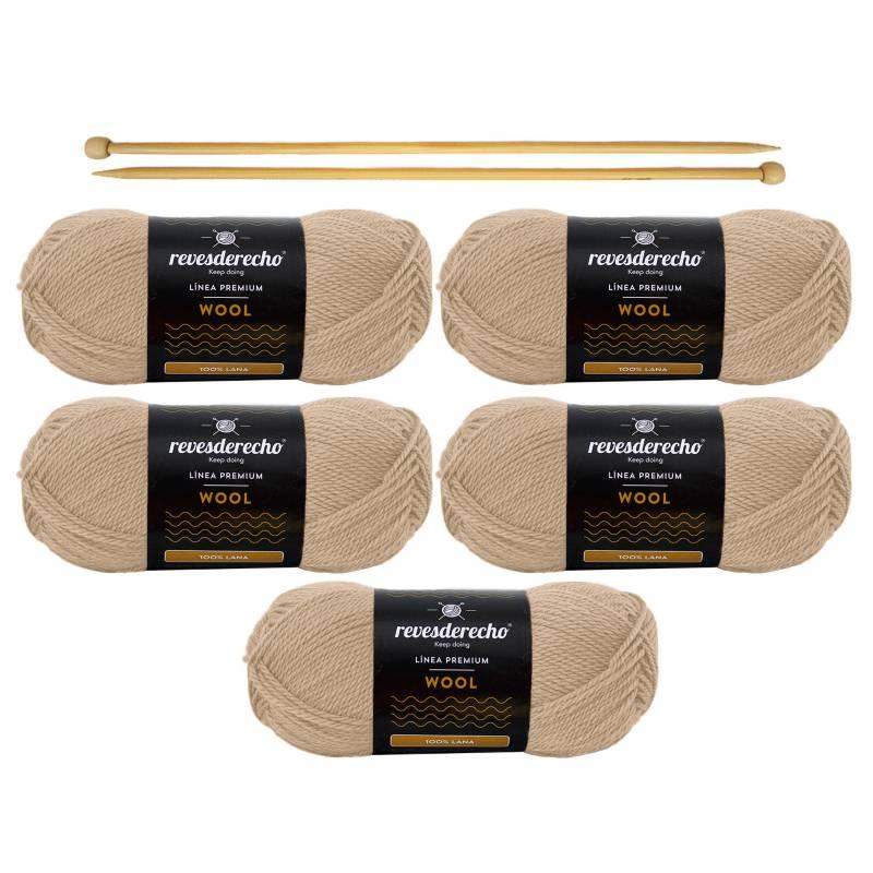 REVESDERECHO - Kit Wool Vicuna