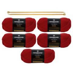 REVESDERECHO - Kit Wool Rojo Italiano
