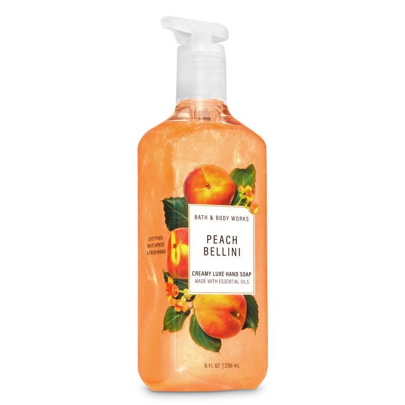BATH & BODY WORKS - Jabón Cremoso Peach Bellini