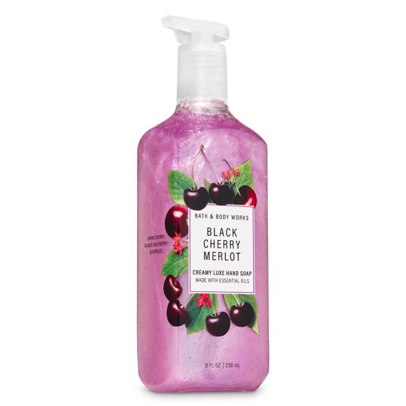 BATH & BODY WORKS - Jabón Cremoso Black Cherry Merlot