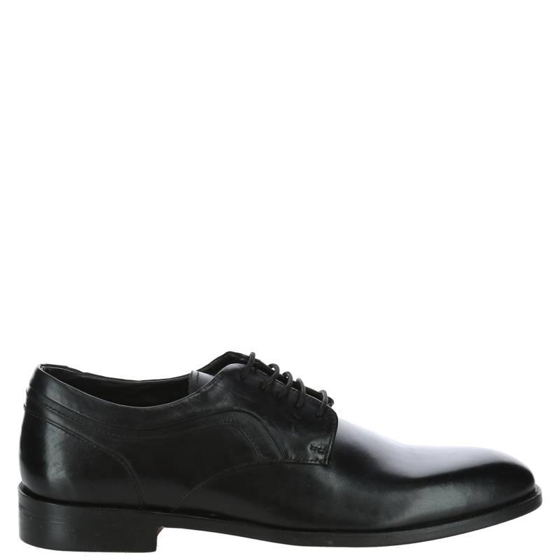 HUSH PUPPIES - Zapato Hombre Cuero London Negro