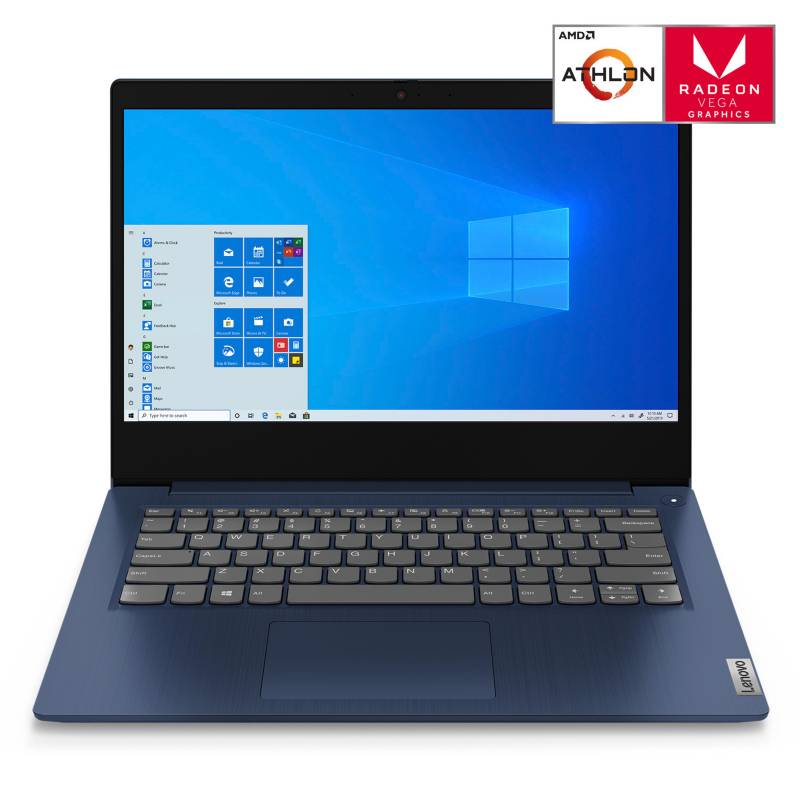 """LENOVO - Notebook Ideapad 3AMD Athlon Silver 3050U 4GB RAM 256GB SSD 14"""""""