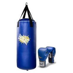 Everlast - Kit De Boxeo Junior (Saco 70 Cm  Guantes 8 Oz)