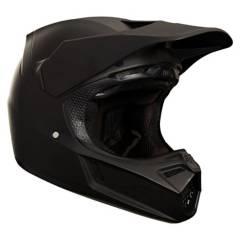 FOX - Casco Moto V3 Matte Carbon Negro Fox