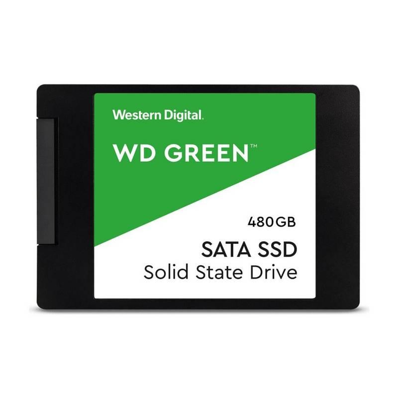 Western Digital - Wd Green Ssd 480Gb 2.5 Int Sata 3D