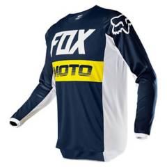 FOX - Polera Moto Niño 180 Fyce Fox