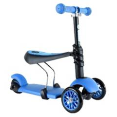 BAUL MAGICO - Scooter 3 En 1 Con Ruedas Led