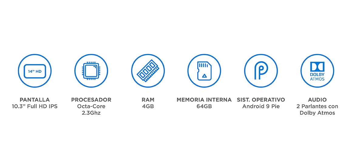 Caracteristicas Lenovo Tab M10 FHD Plus