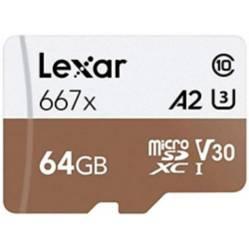 Lexar - Tarjeta de Memoria Microsd 64Gb - Lexar