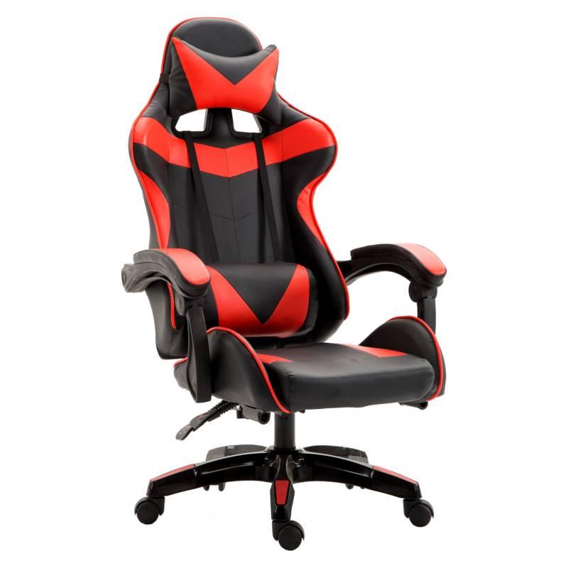 NOVAHUS - Silla Gamer Ultimate Racing - Rojo
