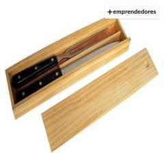 AVACANAO - Set De Asado Cuchillo Tenedor