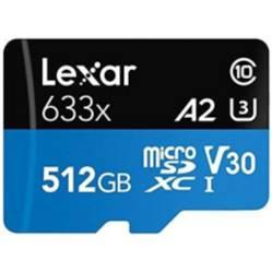 Lexar - Tarjeta de Memoria Microsdxc Uhs I Lexar 512Gb