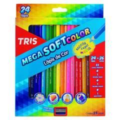 TRIS - Lápices de Color Mega Soft 24 Colores