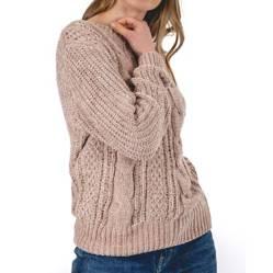 GUINDA - Sweater Acuario