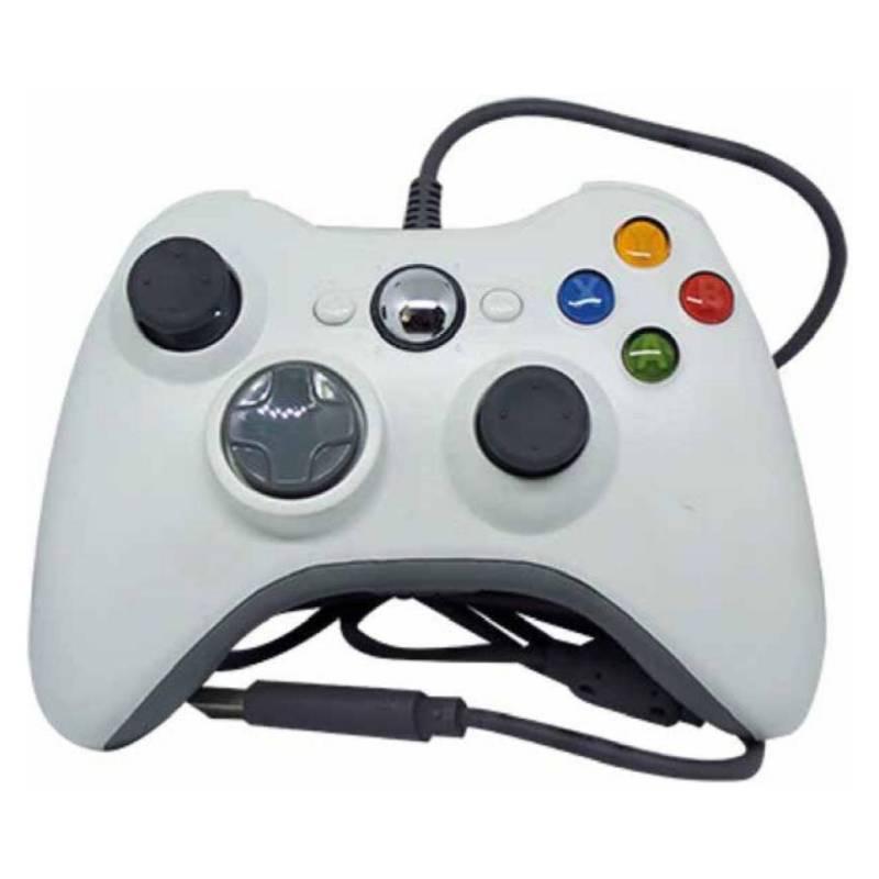 Dblue - Mando Para Xbox 360 Usb Blanco / K