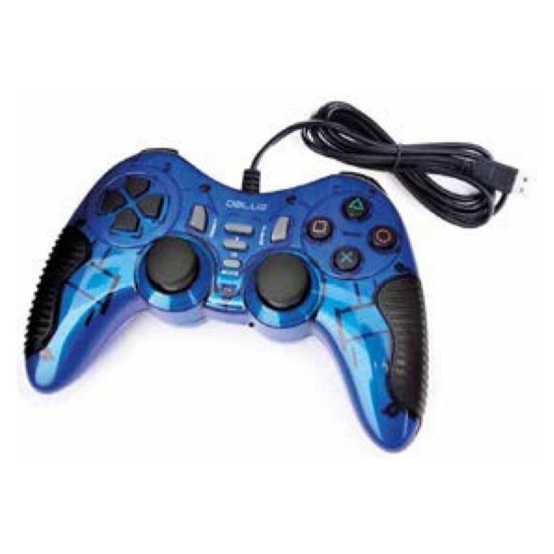 Dblue - Control Para Juegos De Pc Azul Usb / K