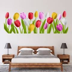 AVERY - Colourful Tulips Spring Flowers Ws-46323