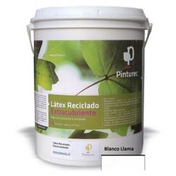 undefined - Latex Reciclado Pinturec Extracubriente Blanco lla