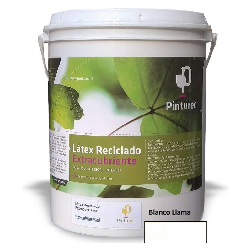 PINTUREC - Latex Reciclado Pinturec Extracubriente Blanco Lla