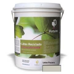 PINTUREC - Latex Reciclado Pinturec Extracubriente Gris Pucar