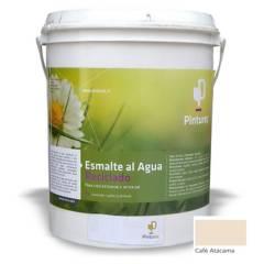 PINTUREC - Esmalte Al Agua Reciclado Pinturec Satinado Café A