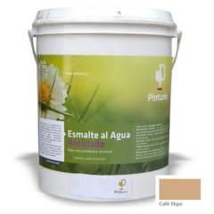 PINTUREC - Esmalte Al Agua Reciclado Pinturec Satinado Café E