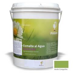 PINTUREC - Esmalte Al Agua Reciclado Pinturec Satinado Verde