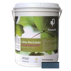 undefined - Latex Reciclado Pinturec Extracubriente Azul Llanq