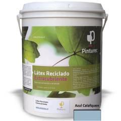 PINTUREC - Latex RecicladoExtracubriente Azul Calaf