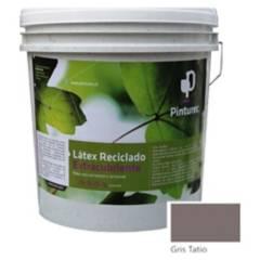 PINTUREC - Latex Reciclado Pinturec Extracubriente Gris Tatio