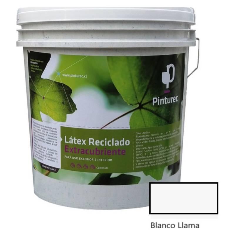 PINTUREC - Latex RecicladoExtracubriente Blanco Lla