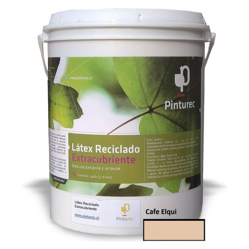 PINTUREC - Latex Reciclado Pinturec Extracubriente Café Elqui
