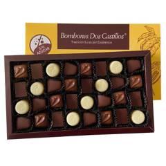 BOMBONES DOS CASTILLOS - Caja De Chocolates Surtidos Sin Azúcar  N 2