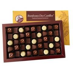 BOMBONES DOS CASTILLOS - Caja De Chocolates Sin Azúcar Dos Castillos N3