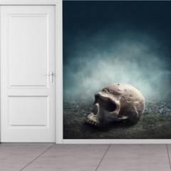 AVERY - Skull Halloween Paper Ws-45514