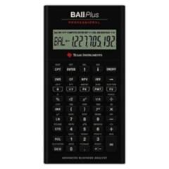 TEXAS - Calculadora Financiera Ba Ii Plus Professional