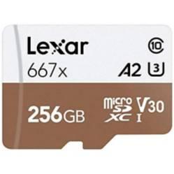 Lexar - Tarjeta Microsdxc 667X Uhs-I U3 Lexar 128Gb