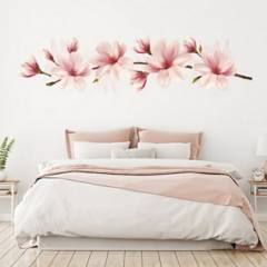 AVERY - Pink Flower Branch Magnolia Floral Ws-47166
