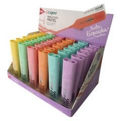 TRIS - Destacador Colores Pasteles Liqueo  36 Unid.