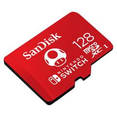 Sandisk - Micro SD Nintendo SWITCH UHS-I CARD 128GB