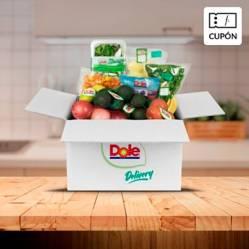 DOLE - Caja de Frutas y Verduras + Producto premium sorpresa, incluye despacho