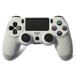 GATON - Control para PS4 y PC alámbrico blanco